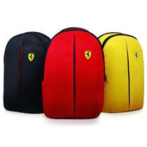Mochila Ferrari Original - Vermelha Preta Ou Amarela