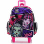 Mochila Infantil C/ Rodinhas Monster High 15z G Sestini