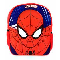 Mochila Infantil Homem Aranha Spider Man 3d