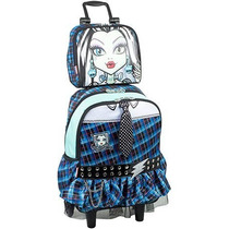Mochila Lancheira Monster High Frankie Escolar Infantil