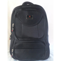 Mochila Notebook Grande Nylon Impermeável Resistente 40l 17´