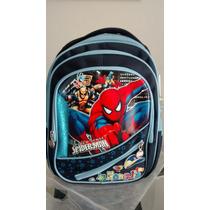 Mochila Infantil Homem Aranha, Heróis, Vingadores