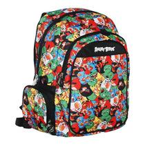 Mochila Angry Birds C/ Compartimento P/ Notebook Abn602230