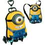 Mochila 3d Minions Stuart + Lancheira