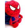 Mochila Infantil Homem Aranha Escolar Super Herói Criança 3d
