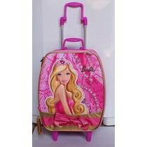 Mochila Barbie Escolar De Princesa C/roda Sestini 1 Unidade.