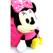 Mochila Infantil Minnie Mickey 3d Escolar Personagem Disney