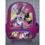 Mochila Escolar Menina Minnie Disney Com Rodinhas