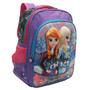 Mochila Escolar Infantil Feminina Da Frozen Princesas On Ice