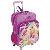 Mochilete Barbie G Bolso 16m Plus | Rosa - 63850 - Catmania