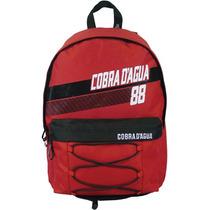 Mochila De Costas Cobra D`agua - Vermelha - Ref. Cam601303