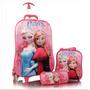 Kit Mochila Inf Spiderman Minions Frozen 3d Sortidos