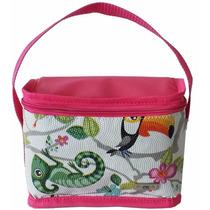 Bolsa Lancheira Térmica Infantil Pequena Pink