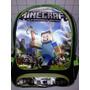 Mochila Escolar Minecraft Game De Costas Entrega Imediata
