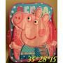 Mochila Peppa Pig E George Pig A Pronta Entrega