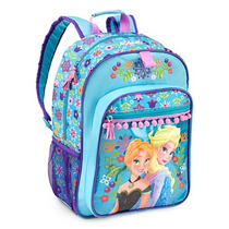 Mochila Disney Frozen Elsa E Ana Original Disney Store Nova!