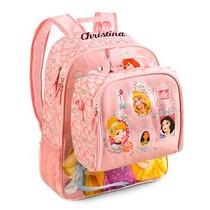 Mochila+ Lancheira Disney Store Princesas Nova!