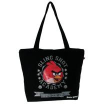 Sacola Tote Angry Birds Canvas - Santino