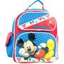 Pequena Mochila Disney Mickey Mouse Azul Bolsa Escola 638061