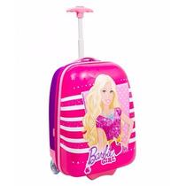 Malinha Escolar Barbie Rosa 16pc -sestini