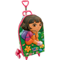 Mochila Escolar Mochilete 3d Dora Aventureira Jardim + Lanch
