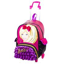 Mochila Com Carrinho Barbie 64122 Sestini