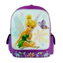 Mochila Disney Tinkerbell Magic School Saco Da Borboleta De