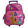 Mochila Pequena C/rodinhas Scooby Doo Peace & Love 389482
