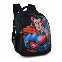 Mochila Escolar Costas Menino Batman Super Man Is314451sb