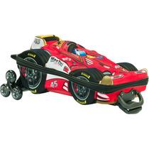 Mochila Escolar Mochilete 3d Carro Formula 1 + Lancheira