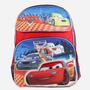 Médio Backpcak Disney Cars Mcqueen Red 650865