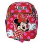Mochica Pequena Minnie Mouse Comic - Verm./rosa - 636111