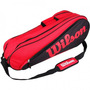 Raqueteira Wilson Racket Equipment Six Bag Dupla