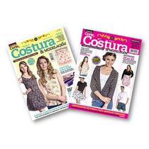 Coleção Corte, Costura E Modelagem - 2 Revistas - Moldes