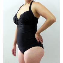 Maiô Bojo Drapeado Plus Size Especial P/ Gordinhas