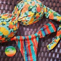 Biquini Bora Bora - Bojo Praia Piscina Calcinha Sutiã