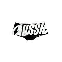 Sunga Aussiebum Sidelined - Preto / Cinza - Tam. 40/42