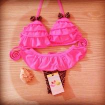 Bikini Biquini Onçinha Babado Panicat