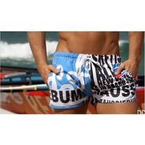 Short Sunga Aussiebum Praia Surf Pronta Entrega Envio Ja