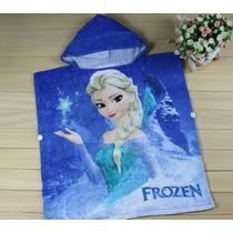 Roupão Infantil Frozen - Elsa - Pronta Entrega