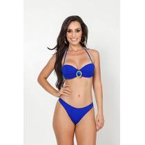 Biquini Ripple Mercado Livre Sensual Sexy Azul Royal Moda