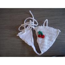 3 Biquínis De Crochê (calcinha)