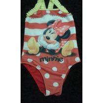 Maiô Biquini Minnie Mouse Disney Infantil Bebê Criança Tam 6