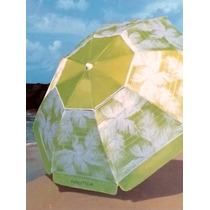 Sombreiro Portátil Com Bolsa Moda Praia Verde Colorido Fps35