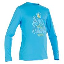 Camisa Blusa Proteção Solar Infantil Upf 50+ Esporte Ar Livr