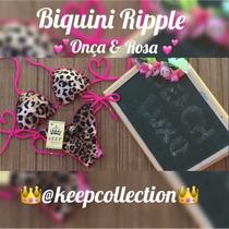 Biquíni Ripple C Bojo Onca&rosa Zigzag Pronta Entrega 50,00