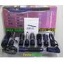 Escova Modeladora Secador Cabelo 9 Acessórios Frete Grátis