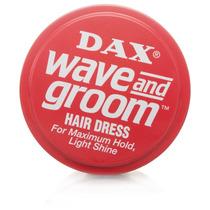 Cera Dax Groom Vermelha Pomada Fixa Maxima Ondas E Curto Dax