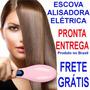 Escova Alisadora 230c Lcd Elétrica Magic Hair Straightener