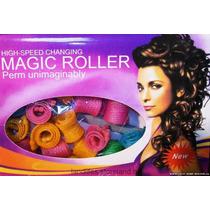 Super Magic Roller + Eficiente Color Cachos Curl Formes Role
